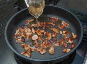 Блюда из белых грибов рецепты