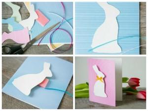 открытка с кроликом