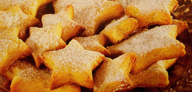 Кокосовое печенье с имбирем