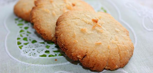 Простое печенье на кокосовом масле