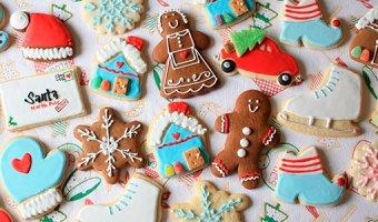 Печенье на Новый год: рецепты с имбирем, глазурью и с предсказаниями