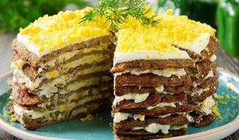 Печеночный торт – самые вкусные пошаговые рецепты