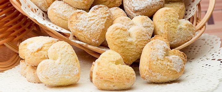 Песочное печенье на маргарине