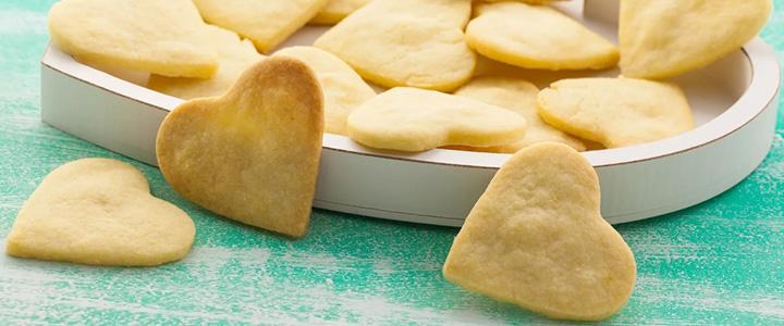 Песочное печенье на маргарине на сметане