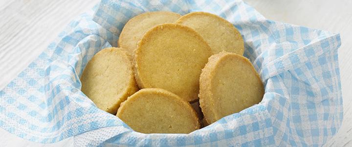 Песочное печенье на маргарине простое