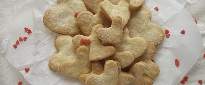 Песочное печенье на маргарине с джемом