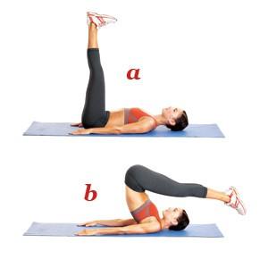 упражнение пилатес 2