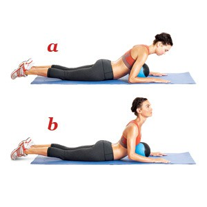 упражнение пилатес 4
