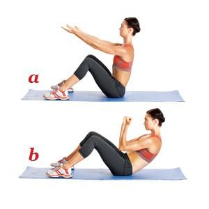 упражнение пилатес 5