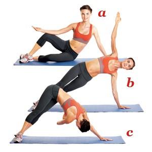 упражнение пилатес 6