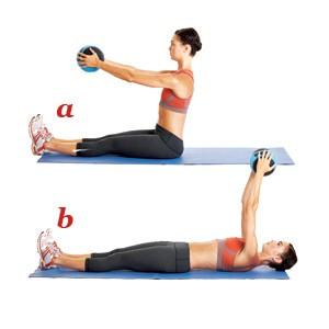 упражнение пилатес 7