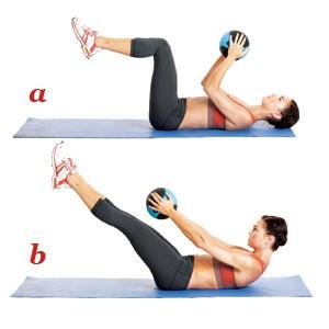 упражнение пилатес 8