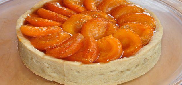 пирог с абрикосами творожный рецепт