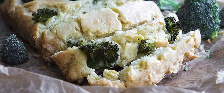 Пирог с брокколи и индейкой