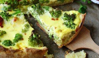 Пирог с брокколи – 5 легких рецептов