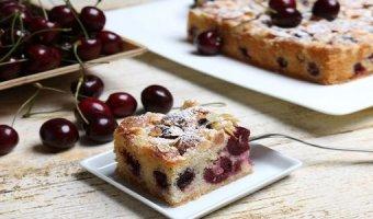 Пирог с черешней – рецепты ароматной выпечки