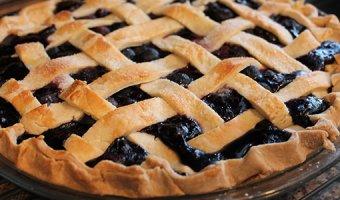 Пирог с черникой – вкусные пошаговые рецепты