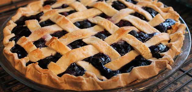 Пирог с черникой - вкусные пошаговые рецепты