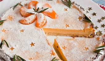 Пирог с мандаринами – простые рецепты с фото