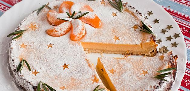 Пирог с мандаринами - простые рецепты с фото
