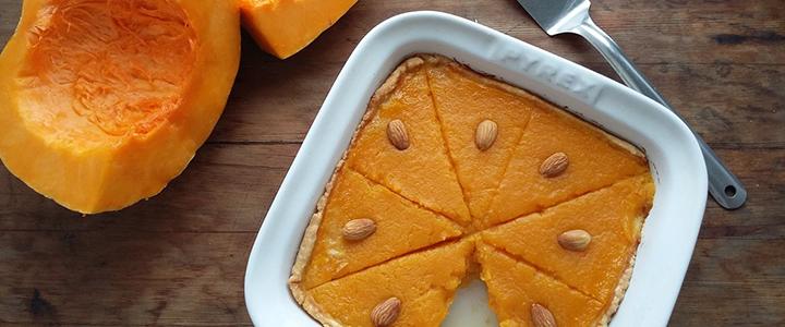 Пирог с тыквой и лимоном