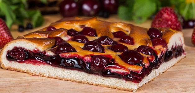 Пирог с вишней - пошаговые рецепты пирогов с вишней
