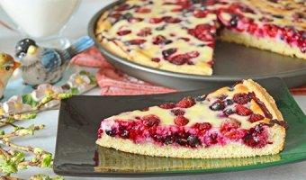 Пирог с ягодами – лучшие рецепты выпечки