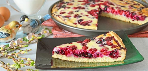 Пирог с ягодами - лучшие рецепты выпечки