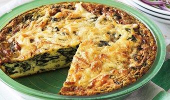 Пирог с начинкой из шпината: 4 полезных рецепта