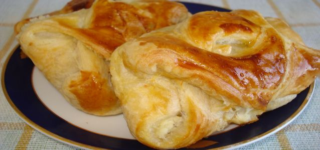 приготовить пирожки с ревенем