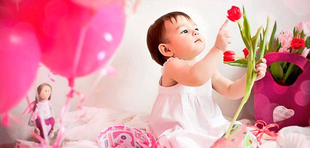 Подарить девочке на 1 год