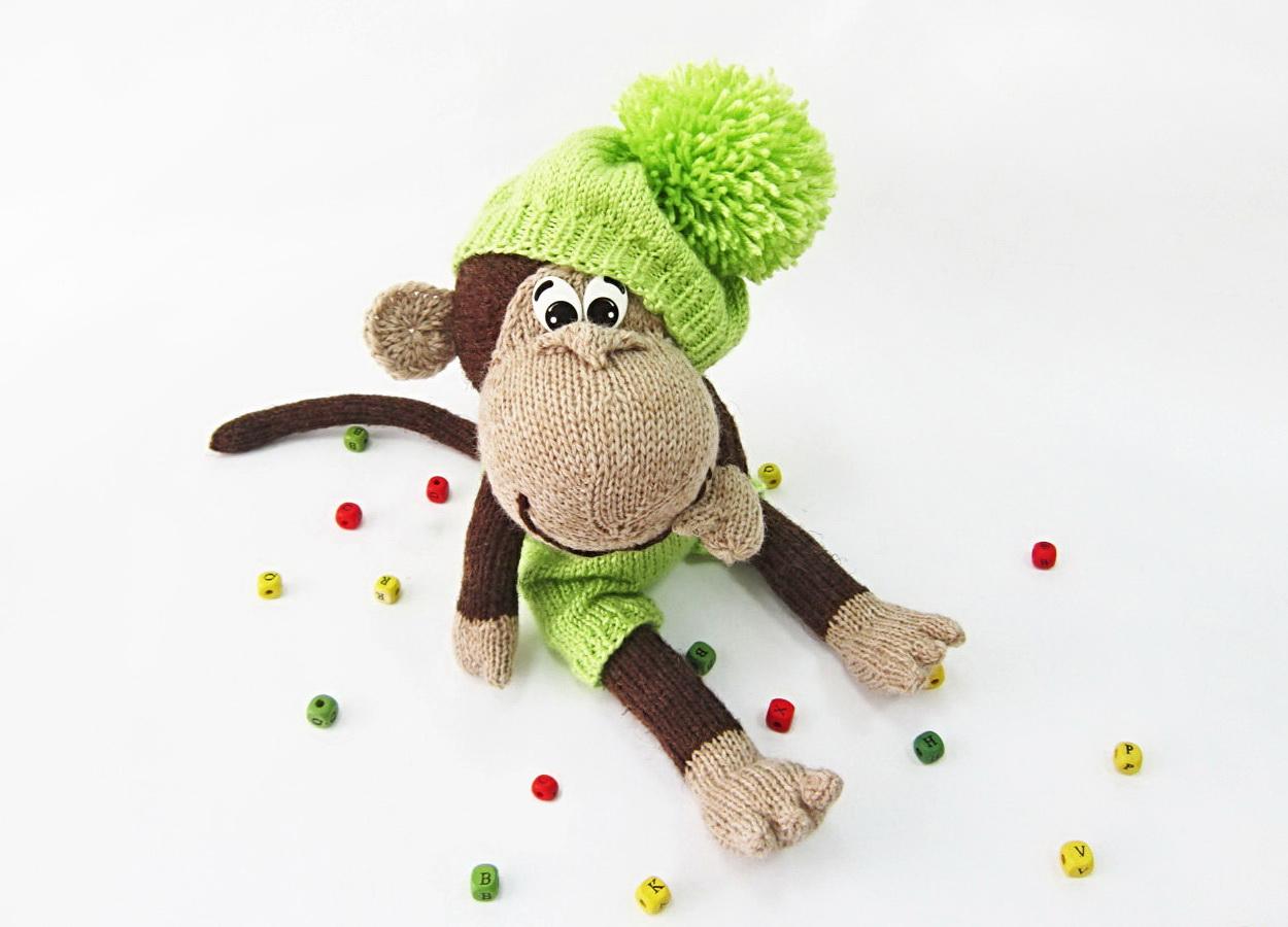 Связать обезьянку на новый 2016 год своими