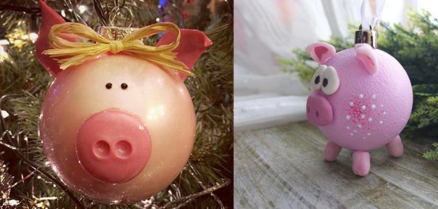 Свинка на Новый год своими руками