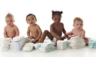 Подгузники – польза и вред памперсов для мальчиков и девочек