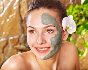 Белая глина маски для лица