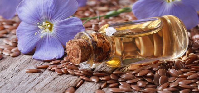 принимать льняное масло