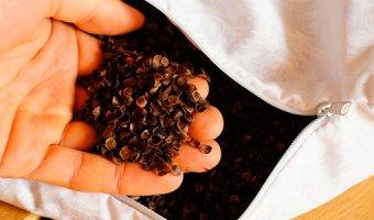 Польза и вред подушки из гречневой лузги