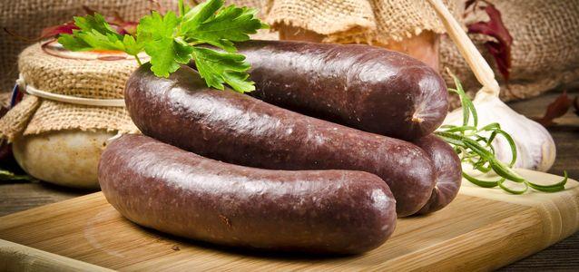 состав кровяной колбасы