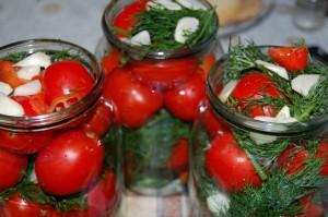 Рецепты консервирования помидоров