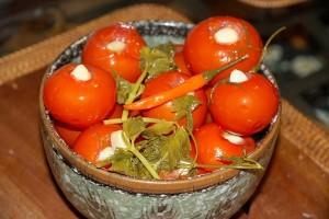 Рецепт консервирования помидоров
