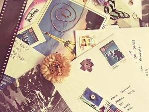 Почтовый обмен открытками