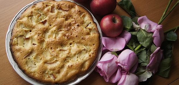 Постная шарлотка - рецепты вкусного пирога