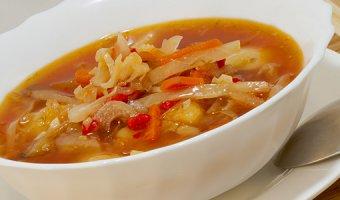Постные щи – рецепты супа из капусты