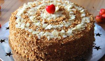 Постный медовик – рецепты очень вкусного торта