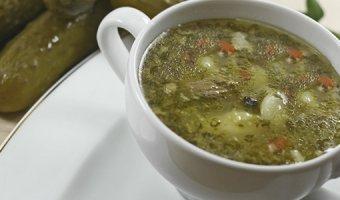 Постный рассольник – рецепты супа на каждый день