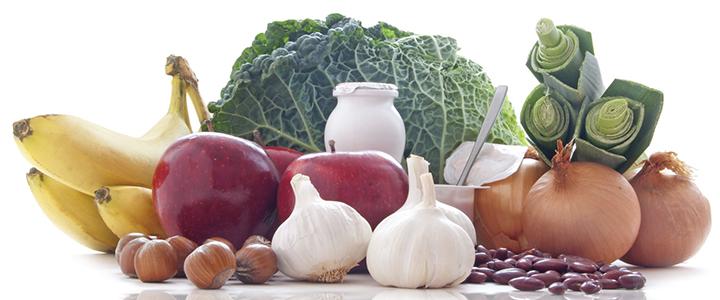 Продукты, содержащие пребиотики