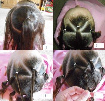 Причёски на 1 сентября для длинных волос