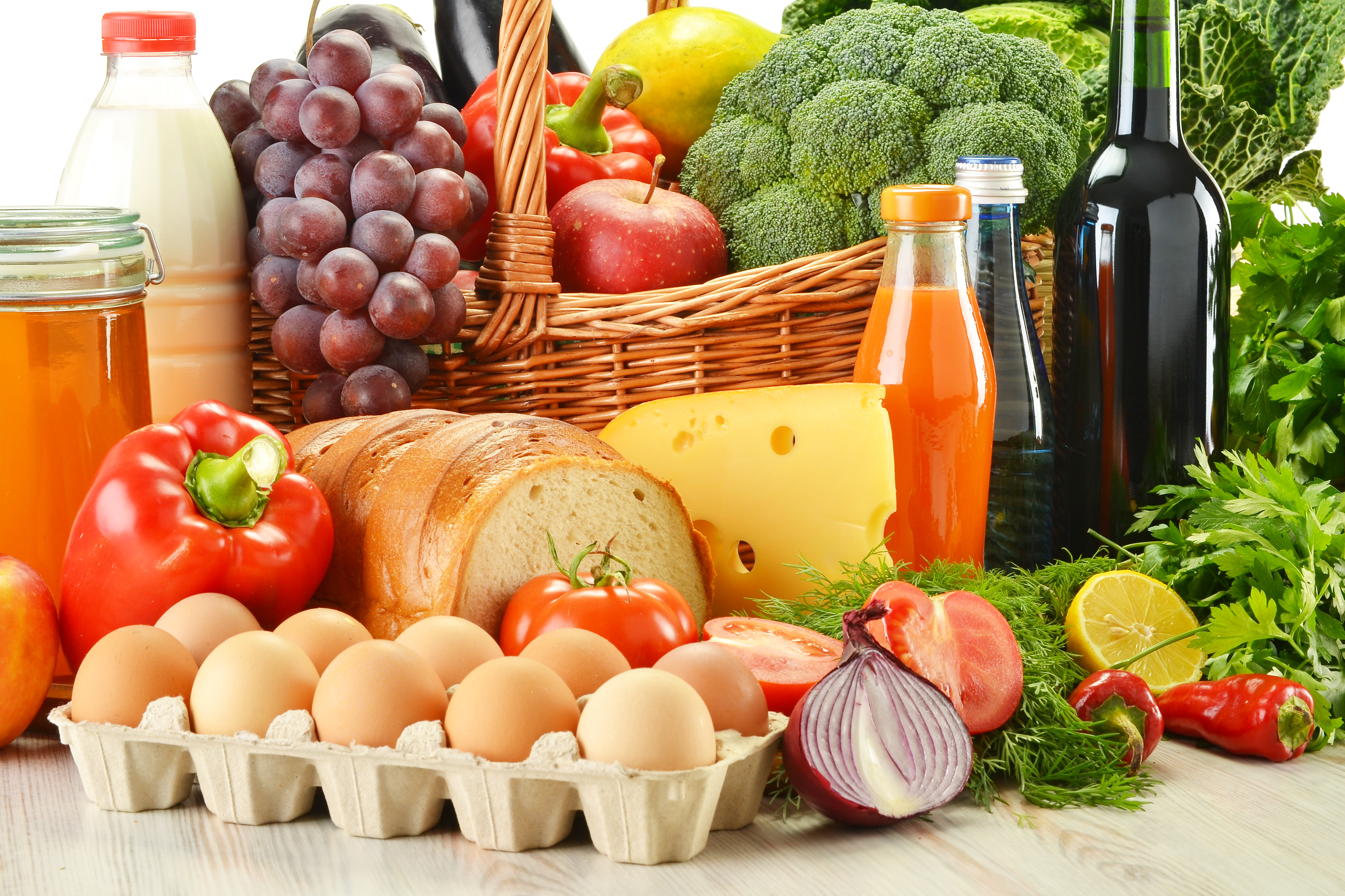 продукты для диеты на неделю от живота