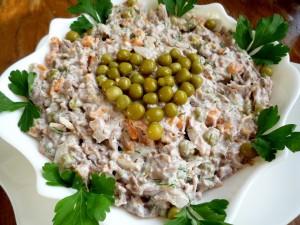 Простые вкусные рецепты салатов на Новый год