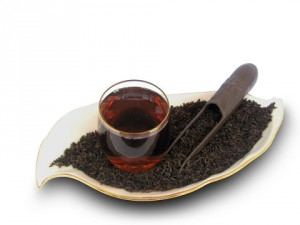 Приготовление чая пуэр